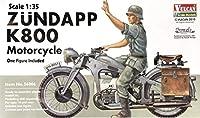 ■ Vulcan バルカン 【絶版】 1/35 Zundapp K800 ツェンダップ 800cc 大型オートバイ w/Swash Design エッチング付き