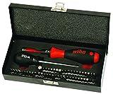 Wiha 28595 Torque Screwdriver and Bits Box Set 10-50 in-lbs., 53 Pieces