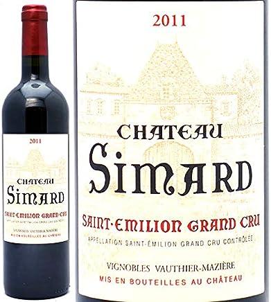 2011 シャトー シマール 750ml サンテミリオン特級 赤ワイン コク辛口 ワイン ((AKIS0111))