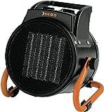 Elettrosicaldatore generatore aria calda Brixo PTC 3000 W termoventilatore