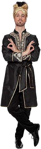 venderse como panqueques Shoperama Bollywood Costume pour Homme Ranjid Inder Inder Inder Sultan Arabischer Prince Carnaval  marcas en línea venta barata