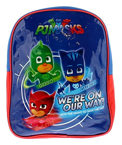 PJ MASKS Junior Children's School Backpack Sac à Dos Enfants 31 Centimeters 12 Bleu (Blue)
