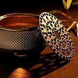 Lumaland Stövchen aus Gusseisen Teewärmer Wärmer Untersetzer für Teekannen nach