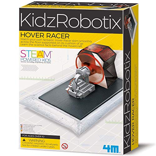4M Hover Racer Science Kit, DIY Mechanical Engineering Airboat - STEM Toys Educational Gift for Kids & Teens, Girls & Boys
