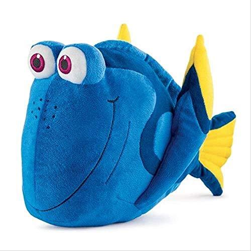 HOOPOO Peluche Juguetes de Peluche 37cm pez Payaso Nemo Azul pez Payaso Nemo Relleno Amigo Dory