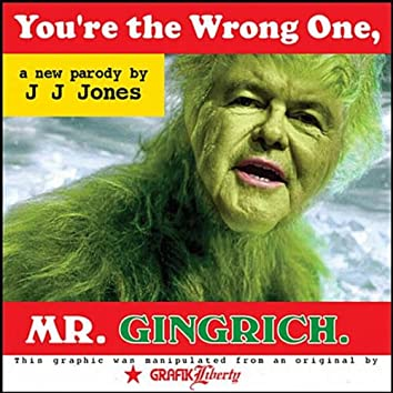 You're the Wrong One, Mr. Gingrich