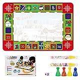 Calendario de Adviento de Navidad, para niños, hecho a mano, para Navidad, para manualidades, día festivo, decoración navideña, fiesta infantil, juego de mesa de ajedrez, juguete de ajedrez