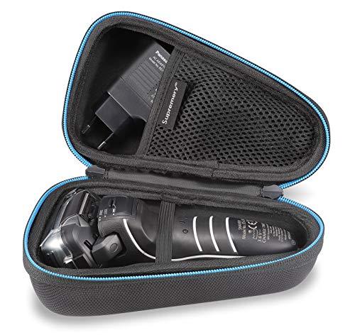 Supremery Case für Panasonic ES-LV67 ES-LV6Q-LT4N-LV65-LV95 Rasierer und Ladekabel Schutz-Hülle Etui Tasche