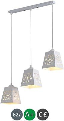 Lámpara de mesa de comedor Lámpara de suspensión moderna Lámpara colgante minimalista creativa Lámpara colgante