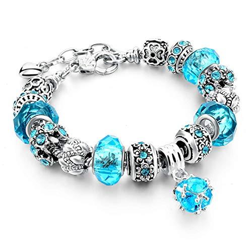 SODANDY Bracelet for Women Fashion CZ Zircon Bracelet Wedding Christmas Birthday Gift Present ST-75
