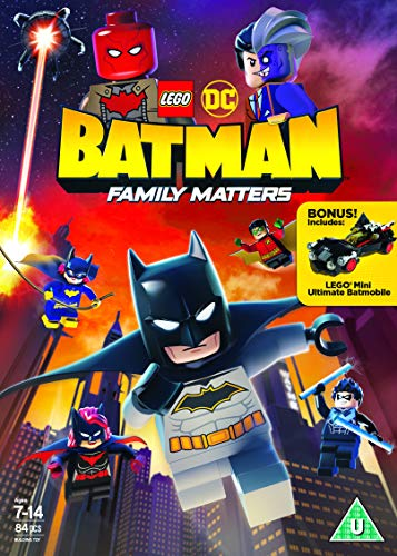LEGO DC: Batman - Family Matters [DVD] (IMPORT) (Pas de version française)