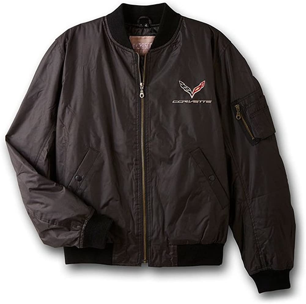 Sacramento Mall Corvette Jacket - Aviator C7 Emblem with Gorgeous