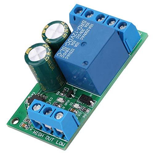 Módulo de interruptor de controlador de nivel, interruptor de controlador de nivel, 12V para bomba de agua de válvula solenoide de tanque de peces de acuario