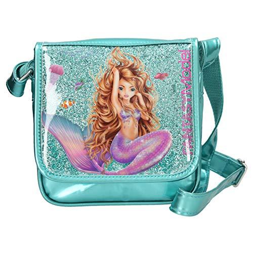 Depesche 10389 Fantasy Model Mermaid, color turquesa, aprox. 20 x 20 x 6 cm, multicolor