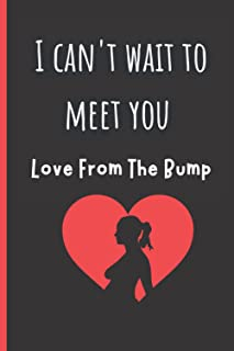 I Can't Wait To Meet You Love From The Bump: Father's Day Gift For Dad From Bump (Card Alternative)