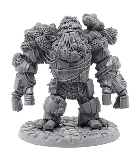 Stonehaven Miniatures Treant Figura en miniatura, 100% resina de uretano – 70 mm de alto – (para juegos de guerra de mesa de escala de 28 mm) – Fabricado en Estados Unidos