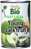Cecil Bio - Jaca verde natural en salmuera, 400 g (pack de 3)