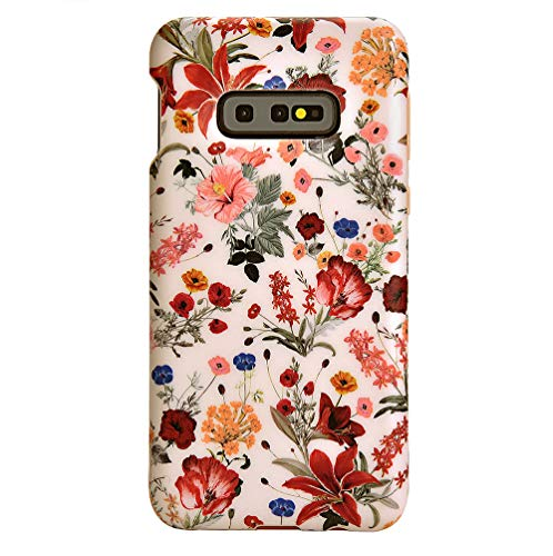 Velvet Caviar Compatible with Samsung Galaxy S10E Case Floral - Cute Protective Phone Cases for Girls & Women (Vintage Wildflowers)