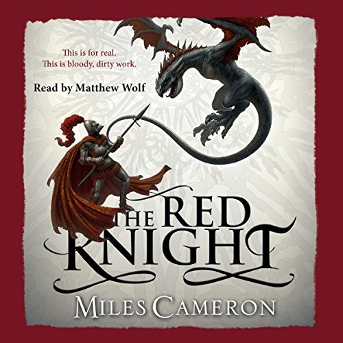 The Red Knight audiobook cover art