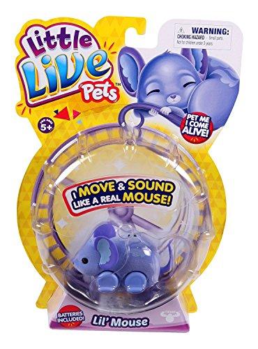Little Live Pets – Lil'Mouse – 1 Souris Interactive – Modèle Aléatoire