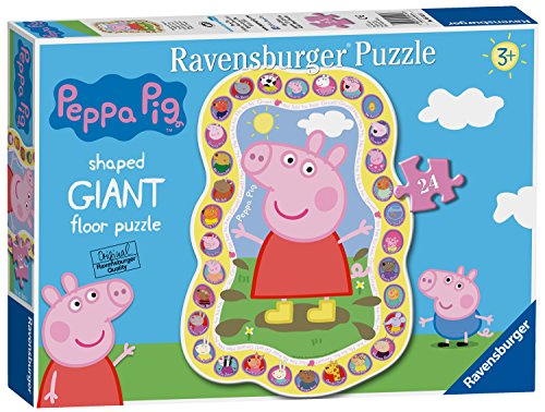 Ravensburger Peppa Pig, 24-Giant Floor Puzzle