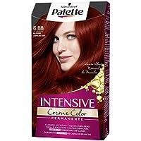 Palette Intense Cream Coloration Intensive Coloración del Cabello 6.88 Rojo Rubí - Pack de 3