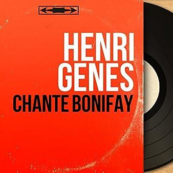 Chante Bonifay (feat. Marius Coste et son orchestre) [Mono Version]