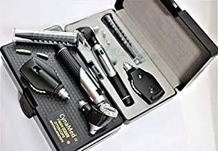 NEW CYNAMED USA OTOSCOPE VETERINARY ENT STUDENT HOME USE DIAGNOSTIC SET KIT + 2 FREE REPLACEMENT BULB SET GUARANTEED ( CYNAMED BRANDED )