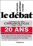 Le Débat, n°111, 20 ans, 2e partie - L'Aventure des idées, chronologie, 1989-1999