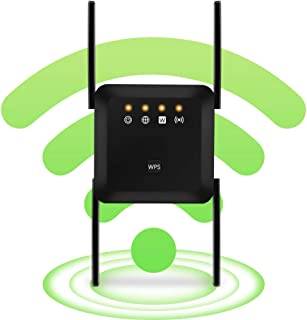 WiFi Range Extender Wireless Signal Repeater Booster, Dual Band Extend WiFi Signal to Smart Home & Alexa Devices Support D...