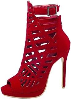 bc901ae3 Amazon.es: 47 - Zapatos de tacón / Zapatos para mujer: Zapatos y ...