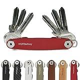 WUNDERKEY® Clásico – El Organizador de Llaves Original Made in Germany [Organizador-Clave | Caso-Clave | Estuche de Llaves | Smart Key Gadget | el Original y Conocido de GQ & Lufthansa]