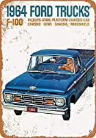 フォードトラックティンサイン壁の装飾金属ポスターレトロプラーク警告サインオフィスカフェクラブバーの工芸品