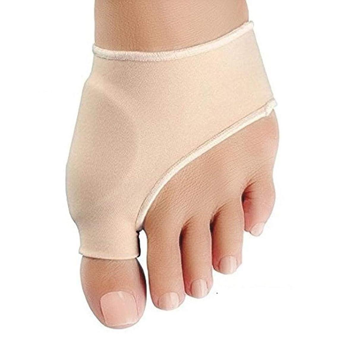 本気本気足アライナ外反母趾ケアカスタムジェルパッドBunionitisカフ親指外反母趾コレクターは、昼と夜の大人が足の骨親指の滑りを着ることができます (Size : S: 7.5*9cm 34-39 yards)