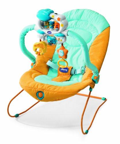 Chicco 04067688420000 - Wippe Do Re Mi, Farbe: orange