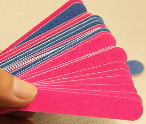 DMtse 50 pcs Disposable Professional Beauty Care Nail File