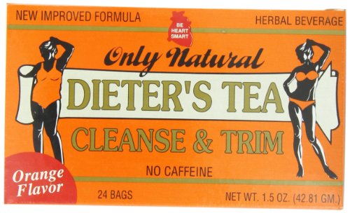 Only Natural Dieters Cleansing Tea - Orange, 1.5 Ounce