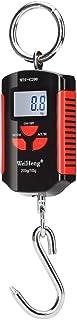 Honorall Digital Bagagem Eletrônica de Pesca Postal Pendurado Balança Gancho 200 KG / 440 Lbs Capacidade de Peso com Retro...