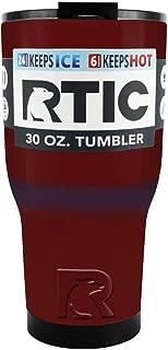 RTIC 30 oz Maroon Tumbler Cup