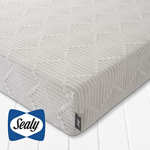 Sealy Posturepedic Ortho Rolled Mattress | Memory Foam | Zonal Support | Anti-allergy | Double Size