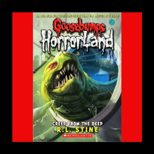 Goosebumps HorrorLand #2 audiobook cover art