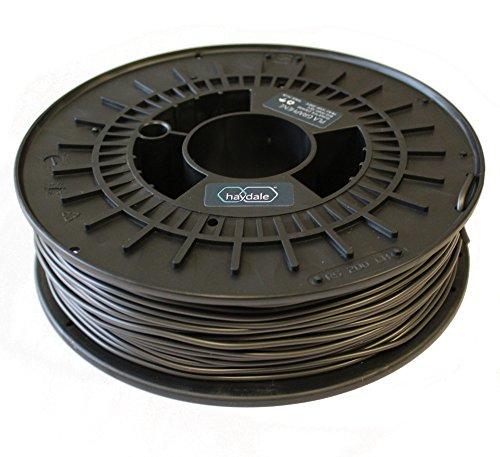 Gem-therm-pla Gpla-750–2.85Impression 3d Filament, PLA, bobine de 750g, 2.85mm de diamètre, Dark Gris métallisé