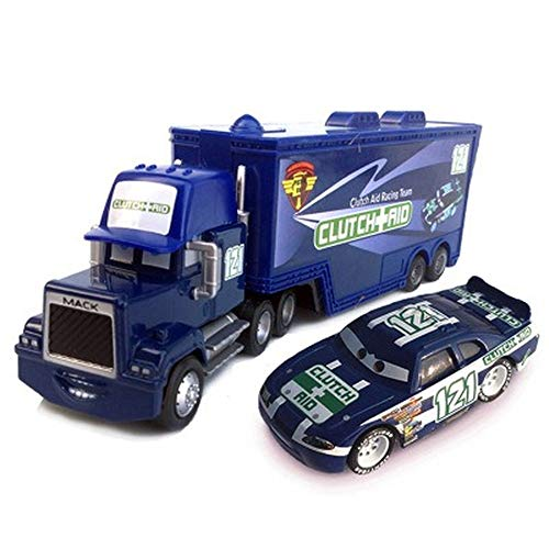NCTO Disney Pixar Vehicles, Diecasts Toy Vehicles Pixar Cars Toys, Truck The King Diecast Metal Alloy Modle Figures Toys Gifts for Kids (K-6)