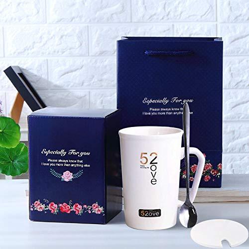 IRCATH bekerbeker ceremonie keramische mok koffiemok 520 paar mok creatieve geschenkdoos