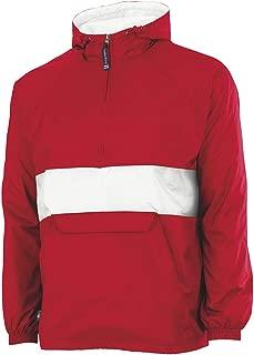 Unisex-Adult's Wind & Water-Resistant Pullover Rain Jacket (Reg/Ext Sizes)