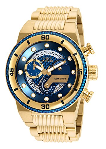INVICTA Mens Chronograph Quartz Connected Wrist Watch with Stainless Steel...
