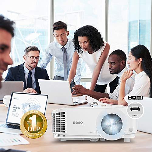 BenQ Proyector empresarial WXGA MW612 | 4000 lúmenes | Relación de contraste de 20.000:1 | Dual HDMI