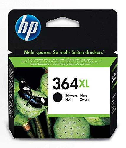HP 364XL schwarz Original Druckerpatrone mit hoher Reichweite für HP Deskjet; HP Photosmart; HP Officejet