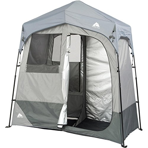 Best Buy! Ozark Trail Instant 2-Room Shower/Changing Shelter Outdoor