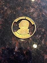 James Madison Presidential Token cut coin